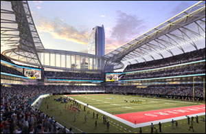 Los Angeles Football Stadium to be Designed by Gensler